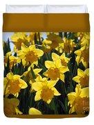 Daffodils In The Sunshine Duvet Cover