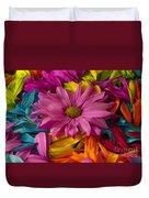 Daisies Petals Duvet Cover