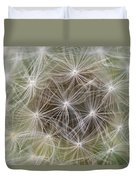 Dandelion Close-up. Duvet Cover