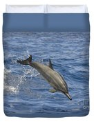 Dolphins Leaping Duvet Cover