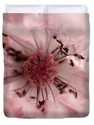 Double Dusty Rose Poppy From The Angel's Choir Mix Duvet Cover