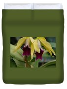 Double Orchid Duvet Cover