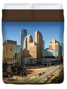 Downtown Okc Duvet Cover