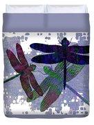 3 Dragonfly Duvet Cover