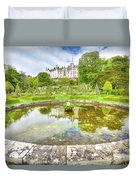 Dunrobin Castle Reflected Duvet Cover