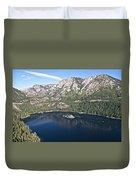 Emerald Bay Lake Tahoe Duvet Cover
