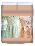 Floral Pattern Young Girl Dresses In Shop Duvet Cover