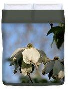 Flowering Dogwood Duvet Cover