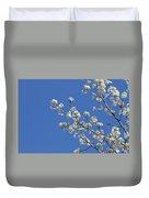 Flowering Trees Duvet Cover
