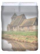 Foggy Fairfield Duvet Cover