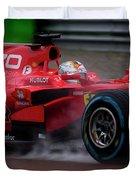 Formula 1 Monza 2017 Duvet Cover