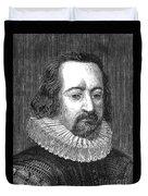Francis Bacon, English Polymath Duvet Cover