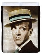 Fred Astaire Hollywood Legend Duvet Cover