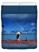 French Polynesia, Tetiaro Duvet Cover