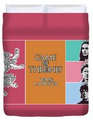 Game Of Thrones. Lannister. Duvet Cover