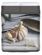 Garlic Duvet Cover