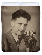 George Orwell 1 Duvet Cover