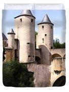 Germans Gate - Metz, France Duvet Cover