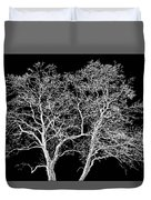 Ghost Trees Duvet Cover