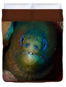 Golden Moray Eel Duvet Cover