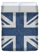 Great Britain Denim Flag Duvet Cover