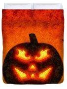 Halloween Pumpkin Duvet Cover