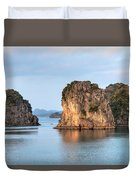 Halong Bay - Vietnam Duvet Cover