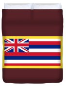 Hawaii Flag Duvet Cover