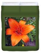 Hemerocallis Flower Duvet Cover