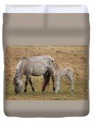 Horses Duvet Cover