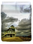 House At The End Of The Road Duvet Cover