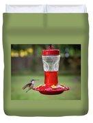 My Sweet Hummingbird Duvet Cover