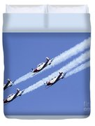 Iaf Acrobatic Team Duvet Cover