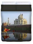 India's Taj Mahal Duvet Cover