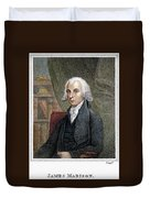 James Madison (1751-1836) Duvet Cover