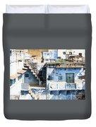 Jodhpur Blue City Duvet Cover