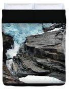 Jostedalsbreen National Park Duvet Cover