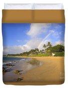 Keawakapu Beach Duvet Cover