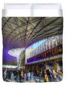 Kings Cross Rail Station London Duvet Cover
