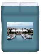 Kings Wharf Bermuda Duvet Cover