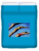 3 Lady Swimmers Duvet Cover