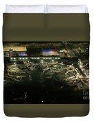Laguardia Airport Aerial View Duvet Cover