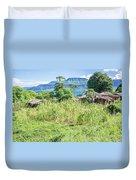 Landscape At The Lake Malawi Duvet Cover