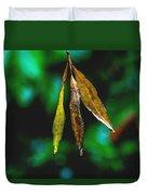 3 Leaves Duvet Cover