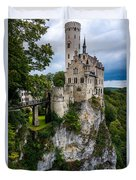 Lichtenstein Castle - Baden-wurttemberg - Germany Duvet Cover