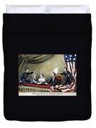 Lincoln Assassination Duvet Cover