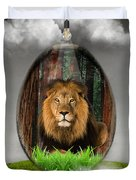 Lion Art Duvet Cover