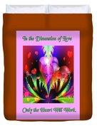 Love And Devotion Duvet Cover