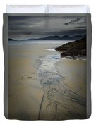Luskentyre, Isle Of Harris Duvet Cover