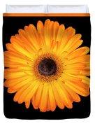 Macro Shot Of Flower Duvet Cover